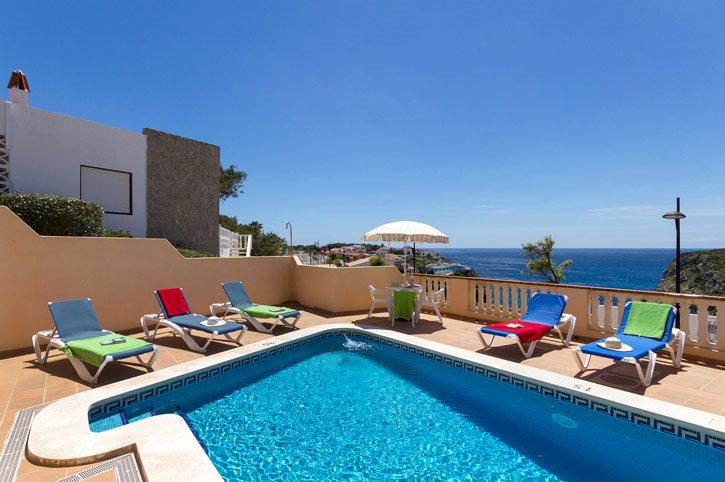 Villa Miramar Sol, Calan Porter, Menorca, Spain
