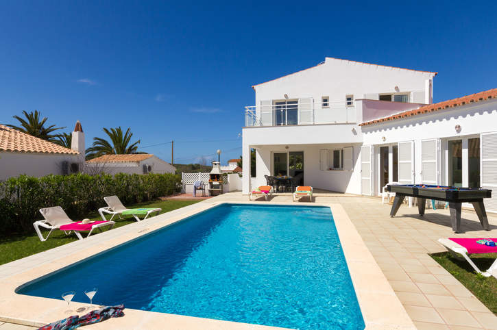 Villa Mura Sol, Punta Prima, Menorca, Spain
