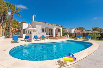 Villa Naia, Cala Blanca, Menorca, Spain