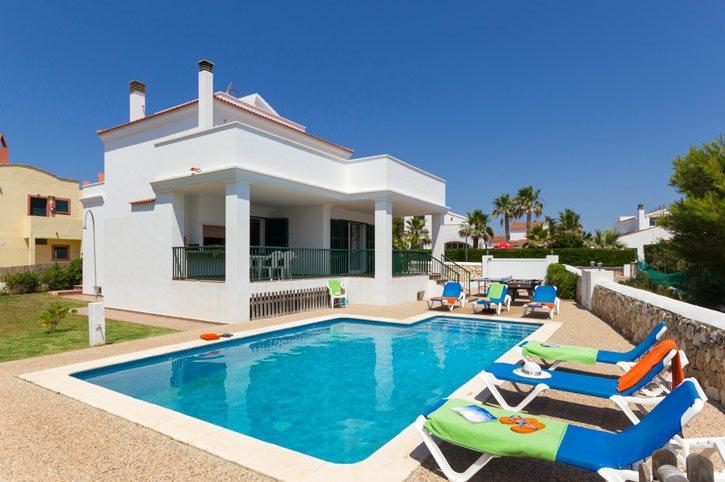 Villa Natasha, Calan Forcat, Menorca, Spain