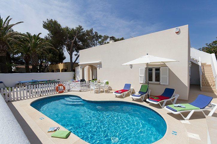 Villa Nautilus, Cala Blanca, Menorca, Spain