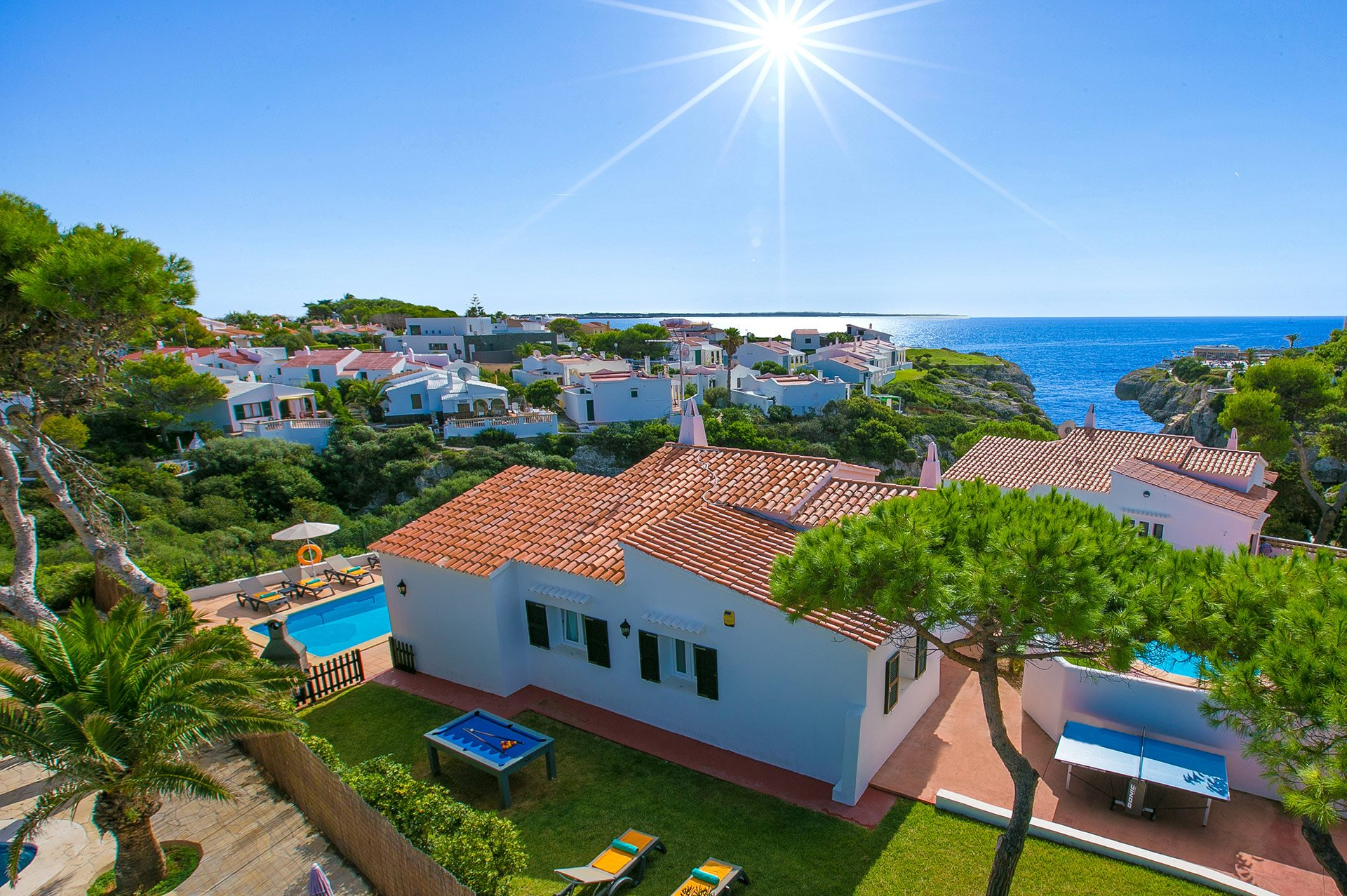 Villa Nereida, Calan Forcat, Menorca, Spain