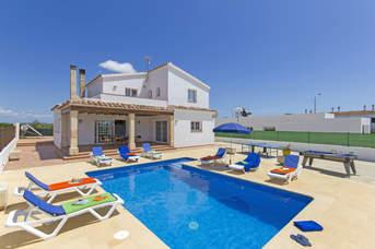 Villa Niet, Calan Blanes, Menorca, Spain