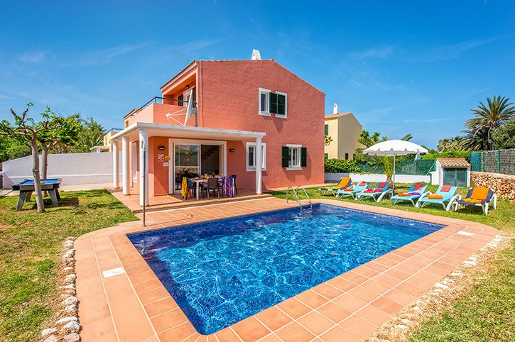 Villa Nura, Cala Blanca, Menorca, Spain