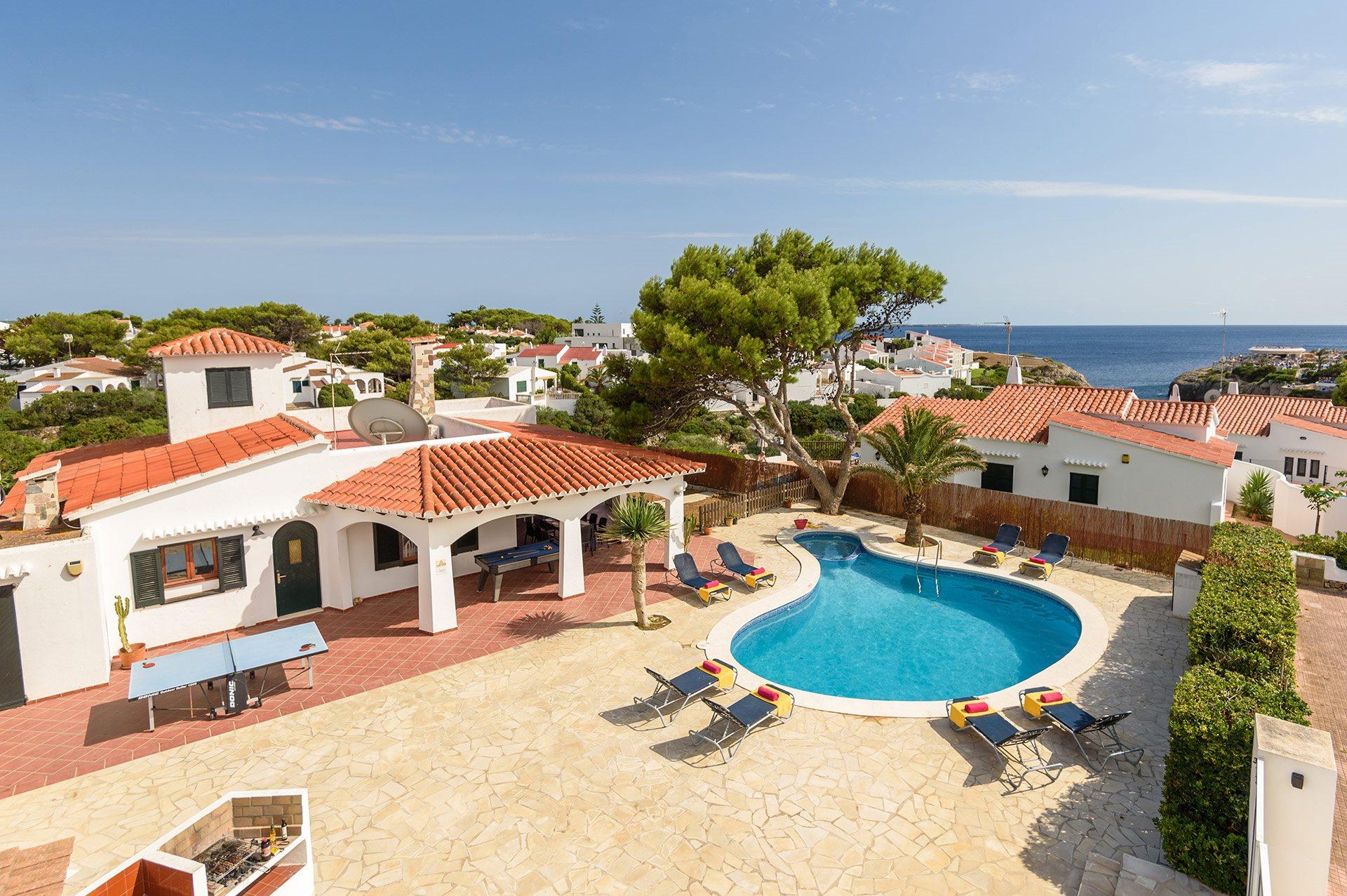 Villa Nuriana, Calan Forcat, Menorca, Spain