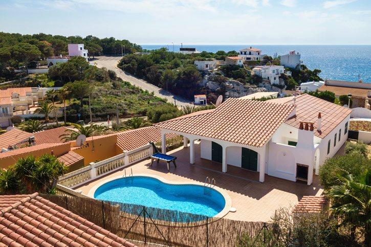 Villa Olga, Calan Porter, Menorca, Spain