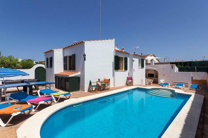 Villa Oliver, Calan Bosch, Menorca, Spain