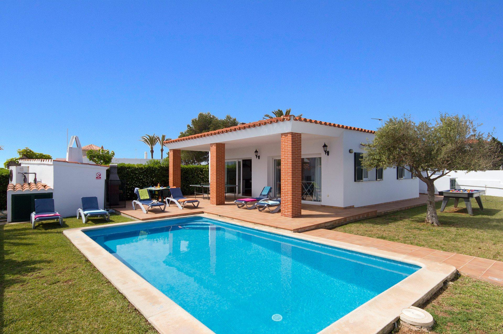 Villa Ondinas, Calan Forcat, Menorca, Spain