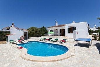 Villa Paco, Calan Blanes, Menorca, Spain