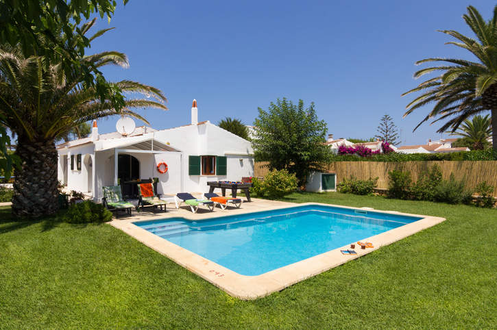 Villa Parque, Calan Blanes, Menorca, Spain