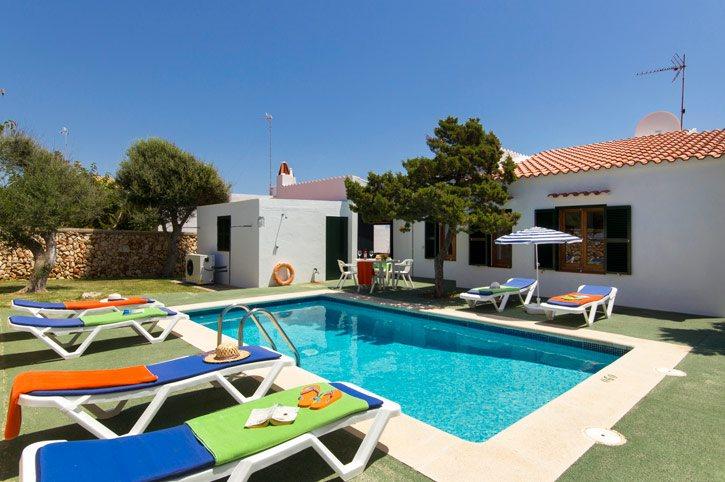 Villa Petunia, Calan Bosch, Menorca, Spain