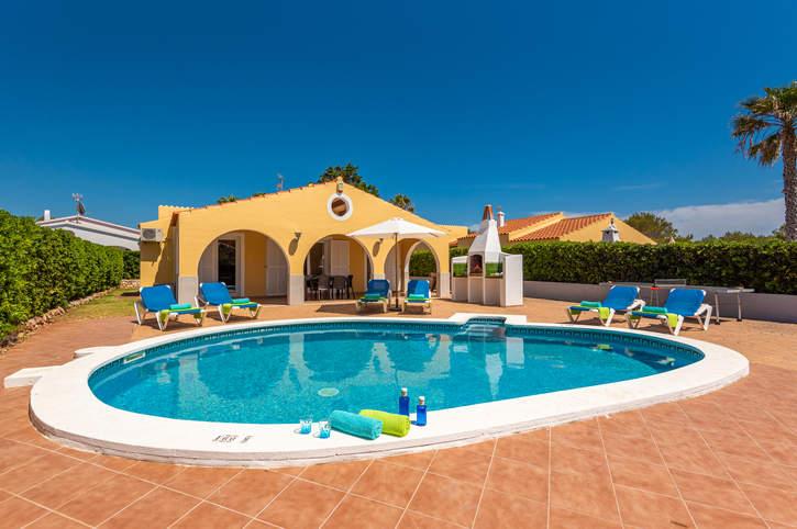 Villa Pluton, Calan Bosch, Menorca, Spain