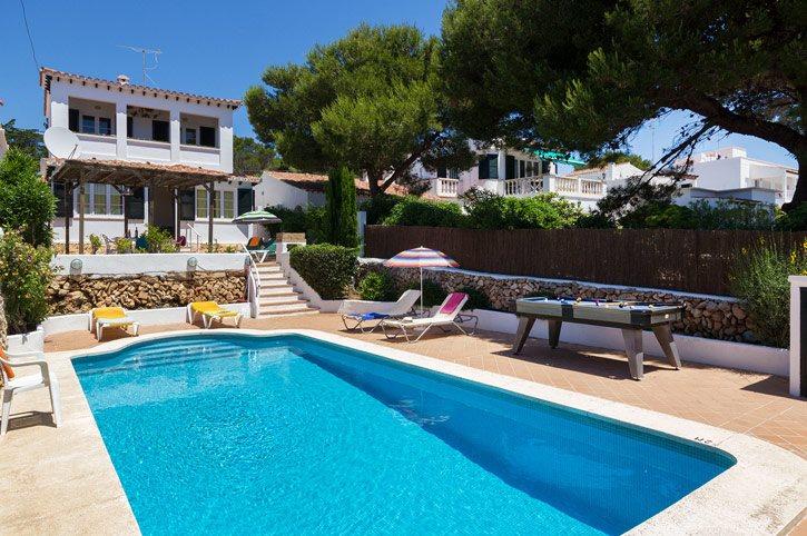 Villa PuntaRosa, Punta Prima, Menorca, Spain