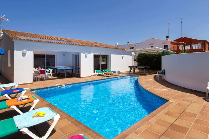 Villa Raquel, Calan Bosch, Menorca, Spain
