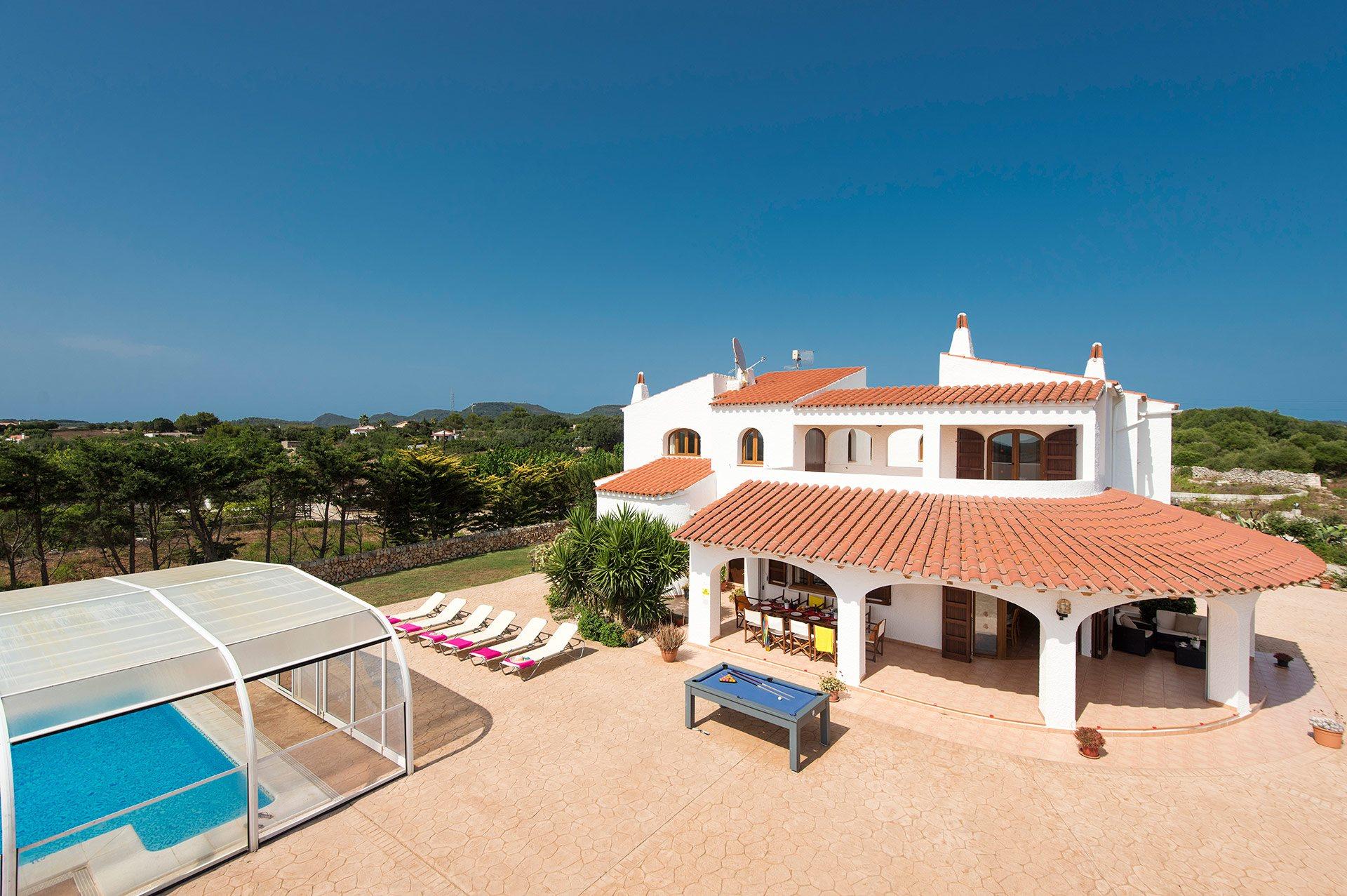 Villa Renate, Cala Galdana, Menorca, Spain