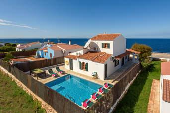 Villa Ribas, Calan Bosch, Menorca, Spain