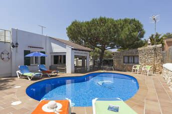 Villa Rincon, Cala Blanca, Menorca, Spain
