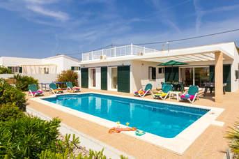 Villa Robyn, Calan Porter, Menorca, Spain
