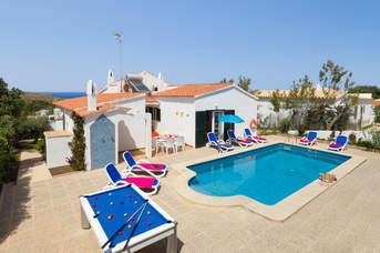 Villa Romani, Arenal den Castell, Menorca, Spain