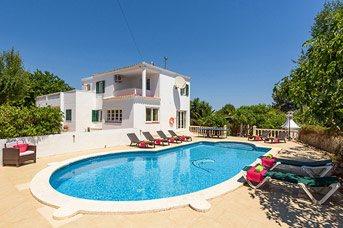 Villa Rosales, Sant Luis, Menorca, Spain