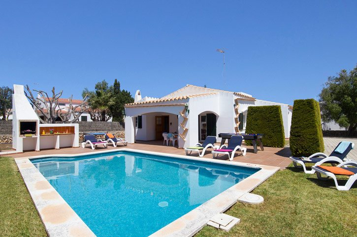 Villa Rosario, Calan Blanes, Menorca, Spain
