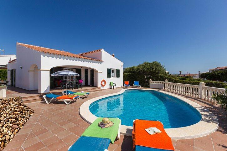 Villa Samana, Arenal den Castell, Menorca, Spain