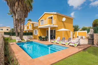 Villa Samuel, Sa Caleta, Menorca, Spain
