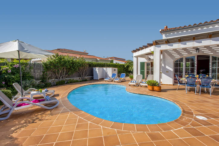 Villa Sara, Calan Porter, Menorca, Spain