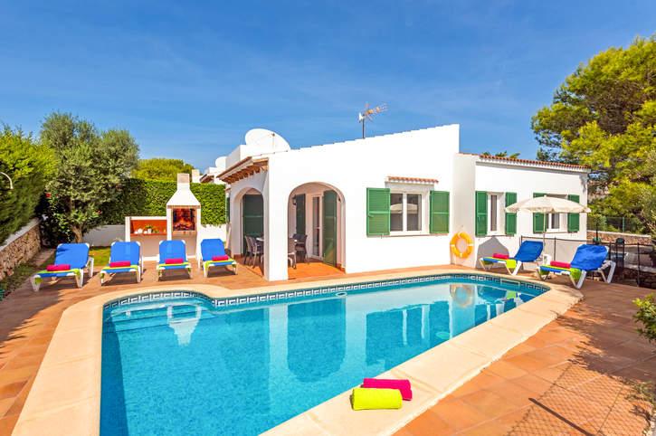 Villa Sirenita, Calan Forcat, Menorca, Spain