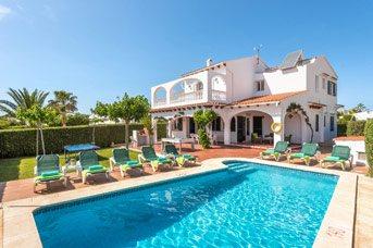 Villa Sofia, Calan Blanes, Menorca, Spain