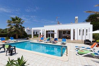 Villa Solana, Calan Blanes, Menorca, Spain