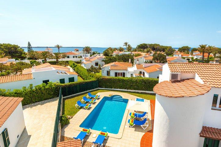 Villa Sol Blanc, Calan Forcat, Menorca, Spain