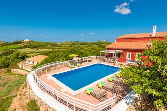 Villa Son Muscart, Playa de Fornells, Menorca, Spain