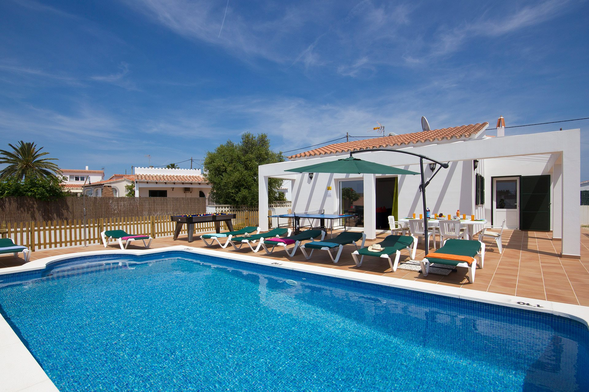 Villa Talia, Calan Porter, Menorca, Spain