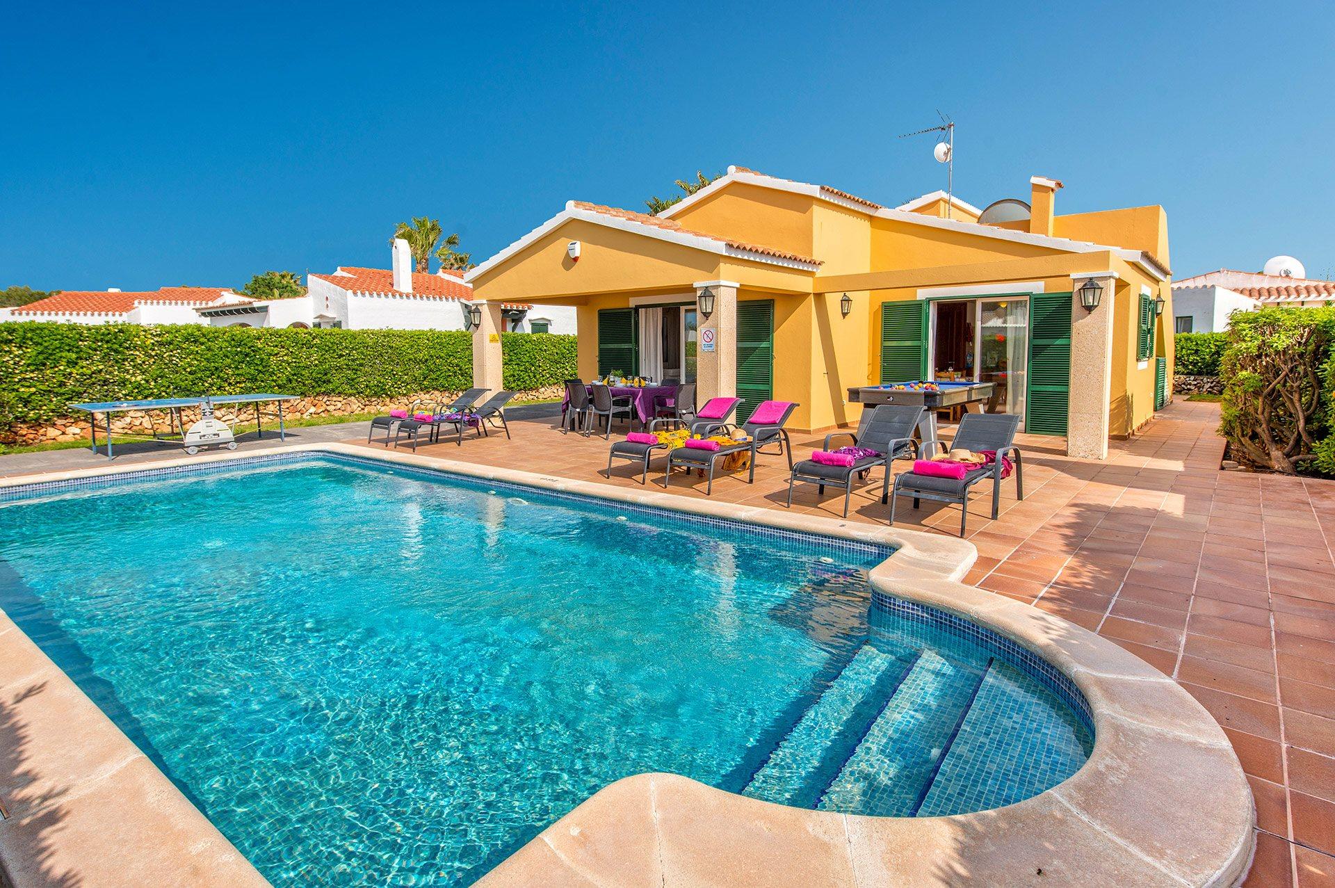 Villa Tamarell, Calan Bosch, Menorca, Spain