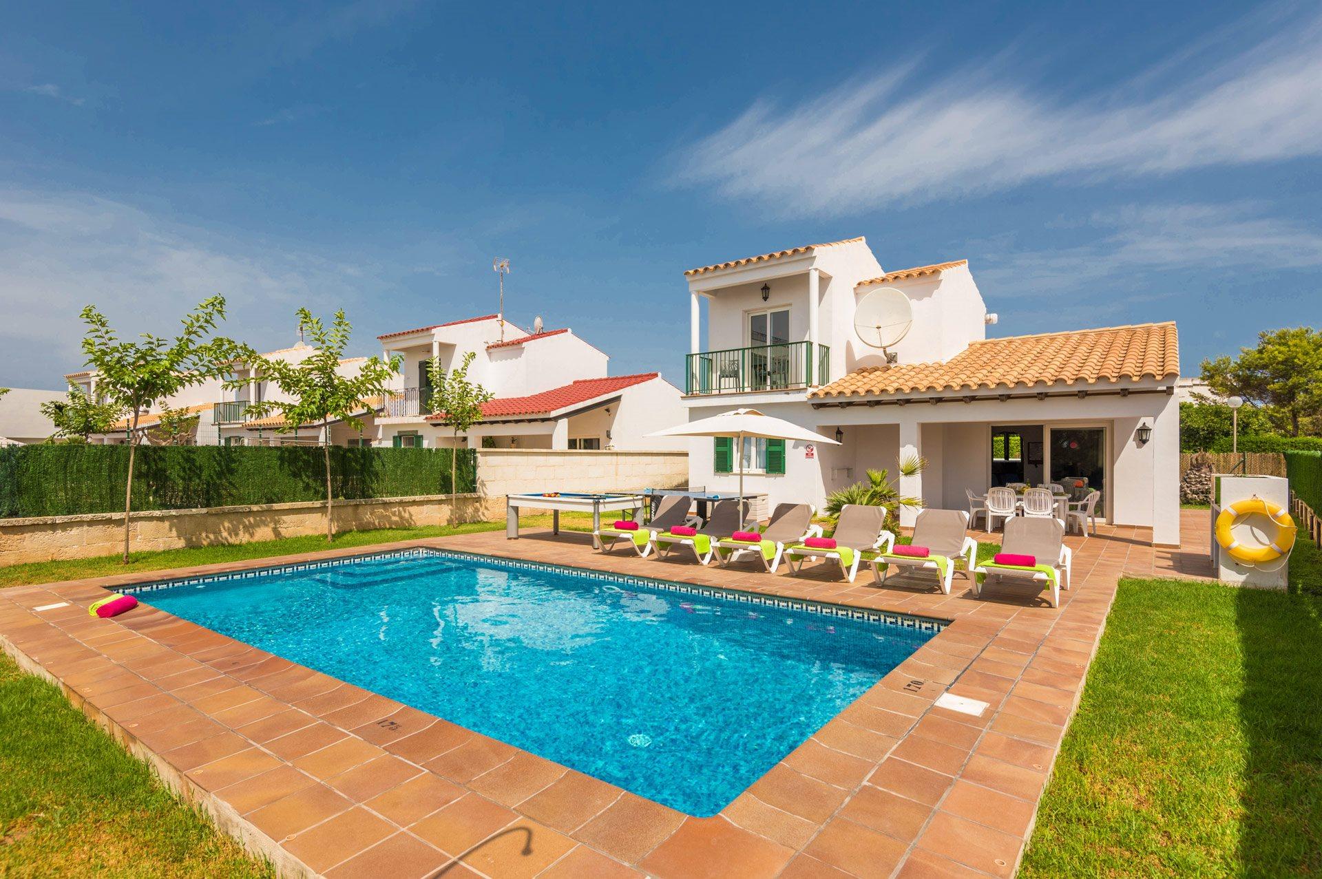 Villa Tierrasol, Calan Forcat, Menorca, Spain