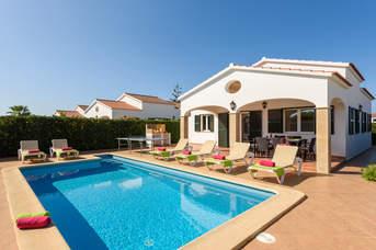 Villa Tonia, Calan Bosch, Menorca, Spain