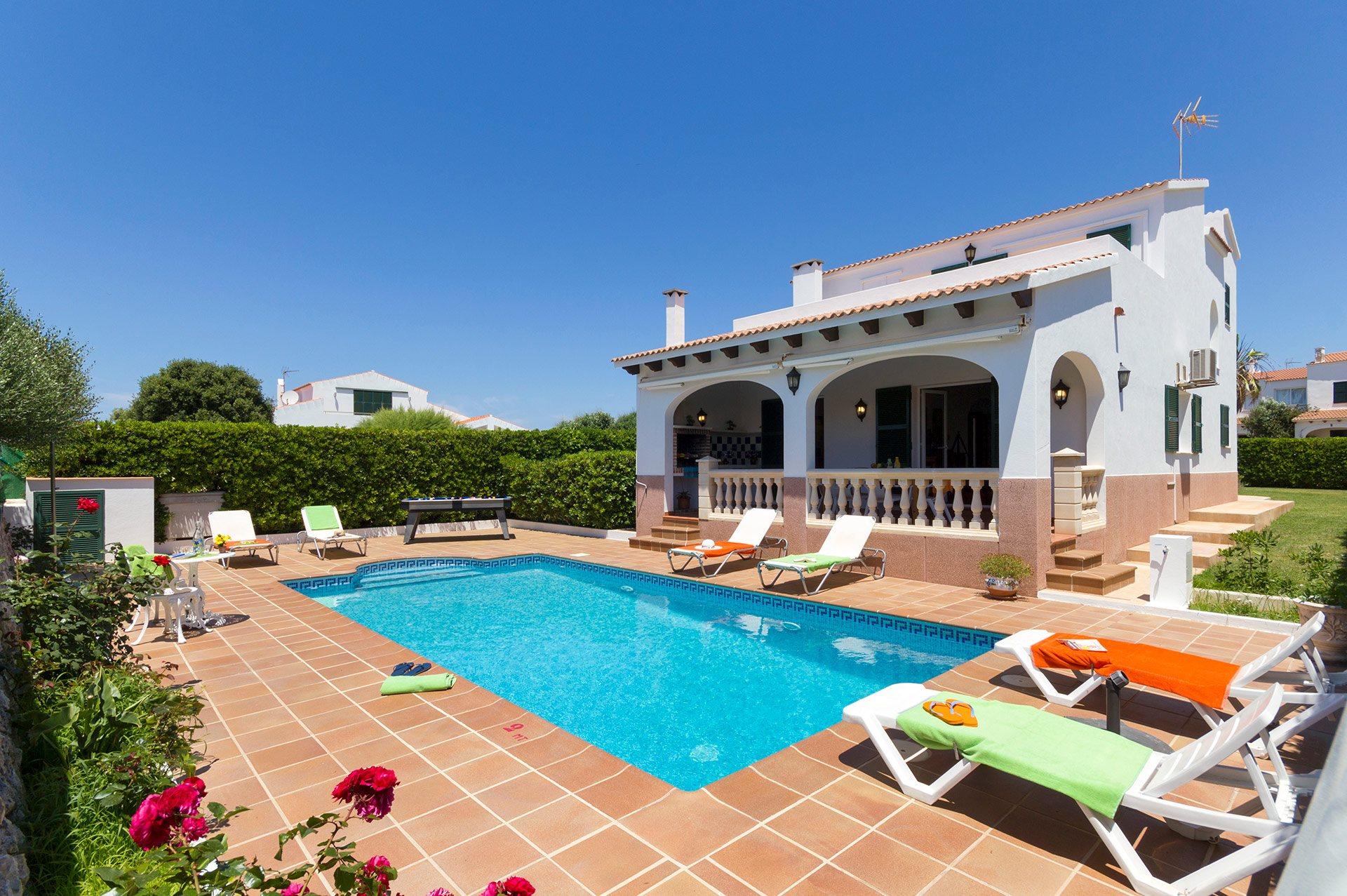 Villa Torre, Calan Forcat, Menorca, Spain