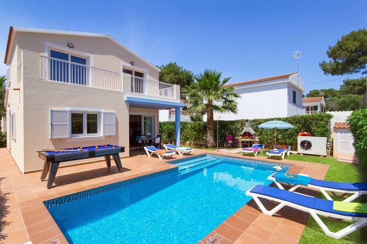 Villa Tranquila Blanca, Cala Blanca, Menorca, Spain