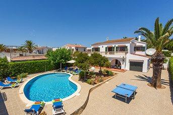 Villa Tres Arcos, Calan Forcat, Menorca, Spain