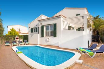 Villa Victoria Cel, Addaia, Menorca, Spain