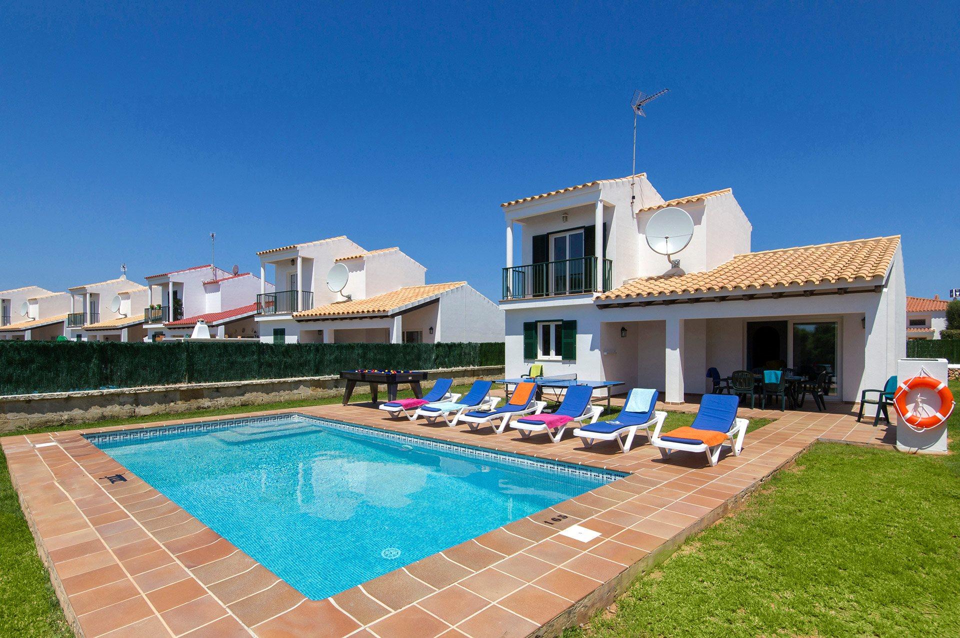 Villa Vientosol, Calan Forcat, Menorca, Spain
