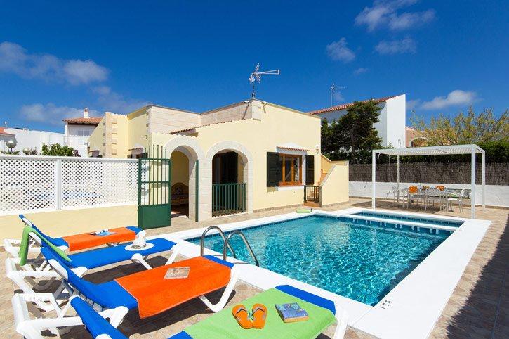Villa Villino, Calan Blanes, Menorca, Spain
