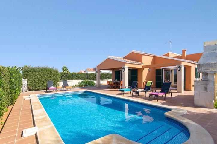 Villa Violeta, Calan Bosch, Menorca, Spain