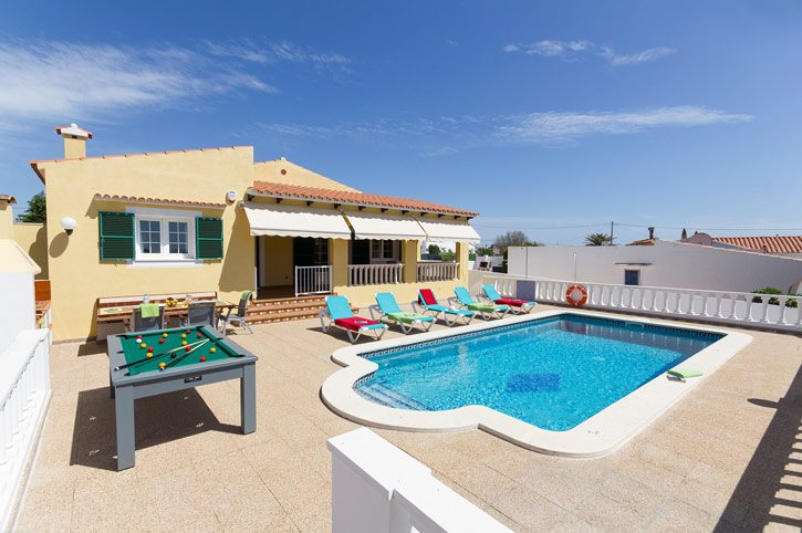 Villa Vistamar, Calan Porter, Menorca, Spain