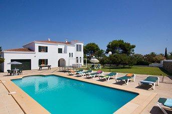Villa Xabec, Calan Forcat, Menorca, Spain