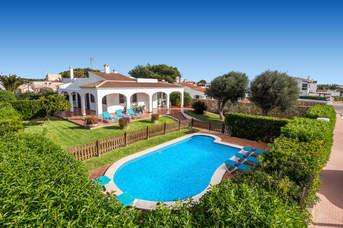 Villa Xaloc Blanes, Calan Blanes, Menorca, Spain