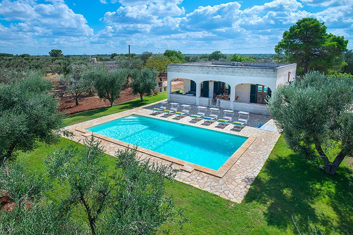Villa Albrizio, Ostuni, Puglia, Italy