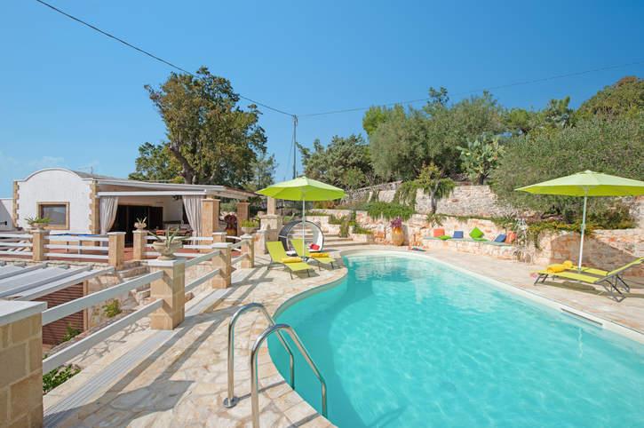 Villa Zaffiro, Ostuni, Puglia, Italy