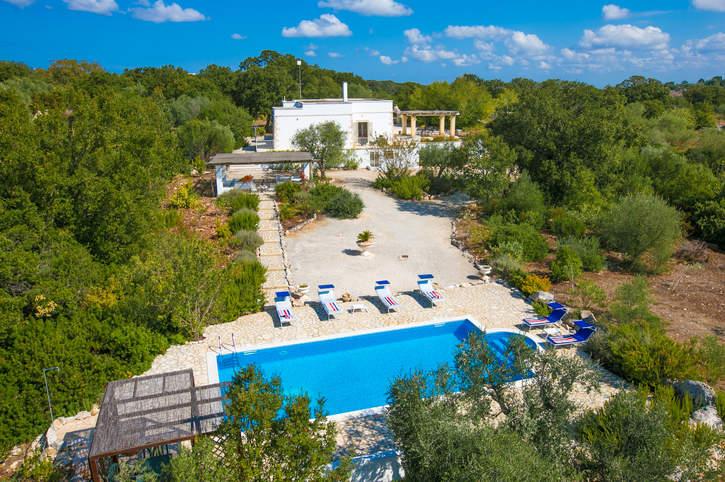 Villa Mandorle, Cisternino, Puglia, Italy
